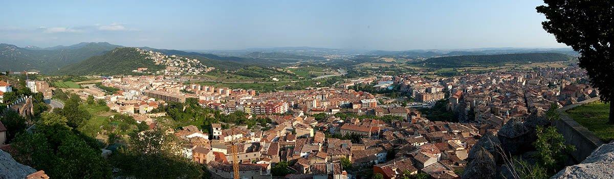 La ciutat de Berga