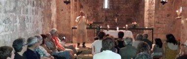 Una trentena de persones es van endinsar en la poesia de Josep Maria de Segarra