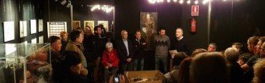 """Una setantena de persones assisteixen a la inauguració de l'exposició """"Visions"""""""